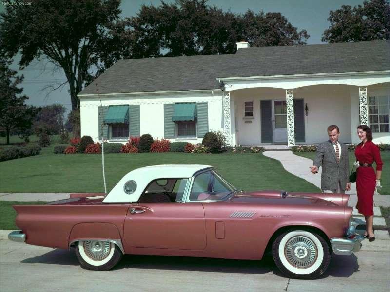 1957 Ford-Thunderbird