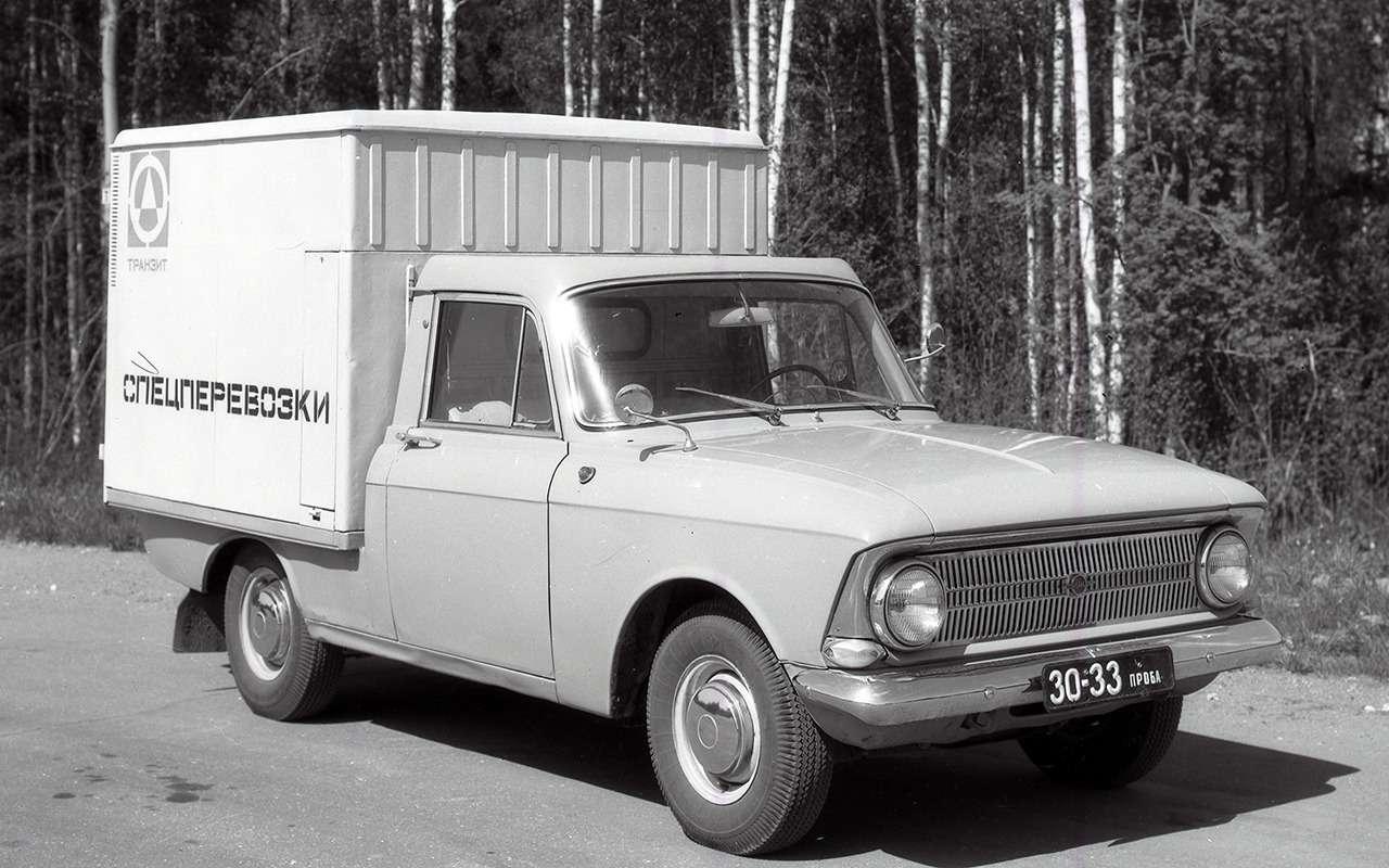 Уникальные версии Москвича-412: пикапы, спорткупе, хэтчбеки— фото 1053246