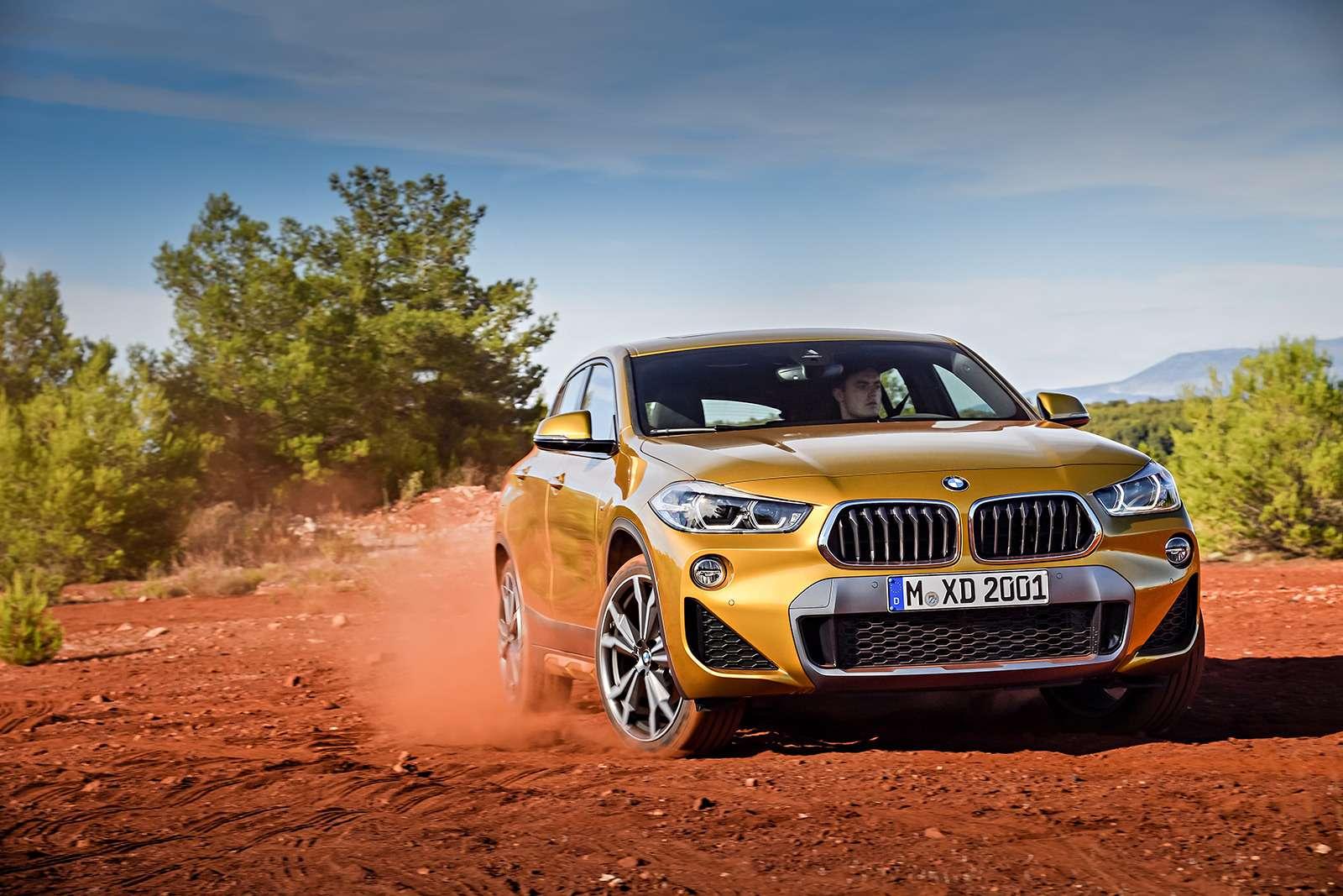 BMWрассекретила российские цены накроссовер X2— фото 809836