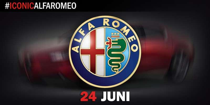 Тизер Alfa Romeo Giulia