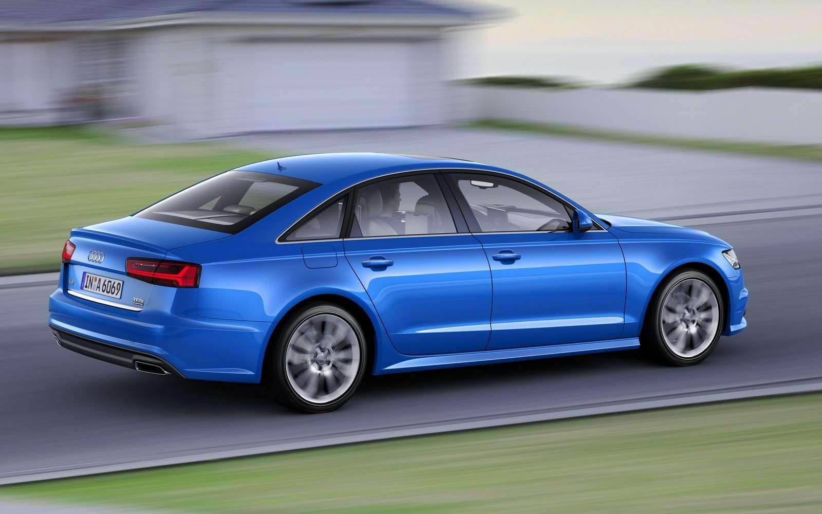 Обновленное семейство Audi A6/A7 хочет понравиться гаджетоманам— фото 579083