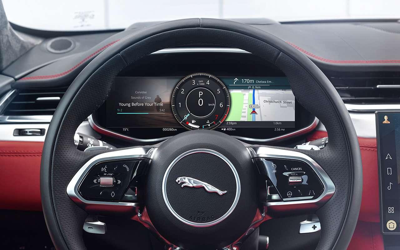 14«фишек» обновленного Jaguar F-Pace— фото 1230377