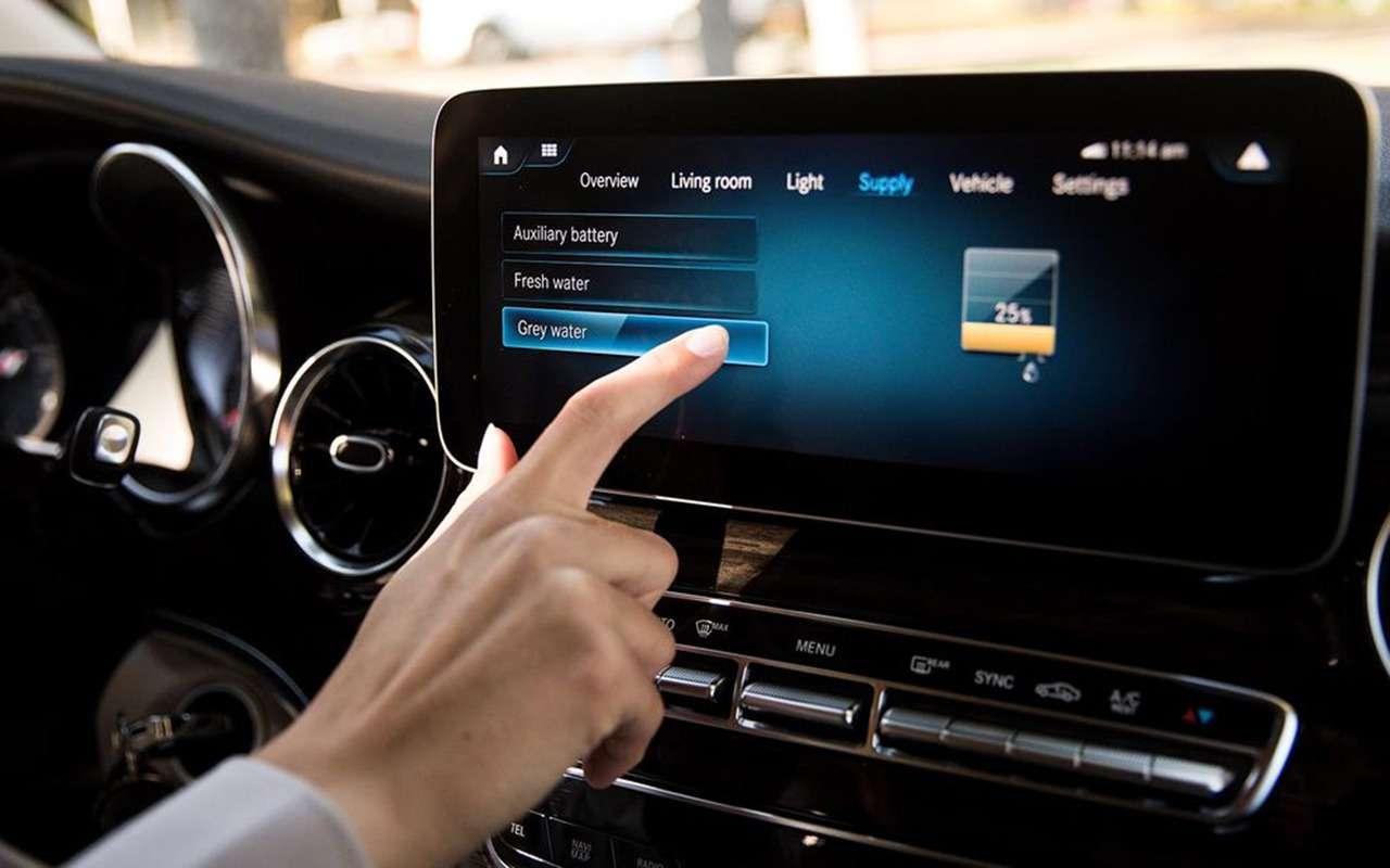Автодом Mercedes-Benz выполняет команду: «Эй, Мерседес!»— фото 1019267