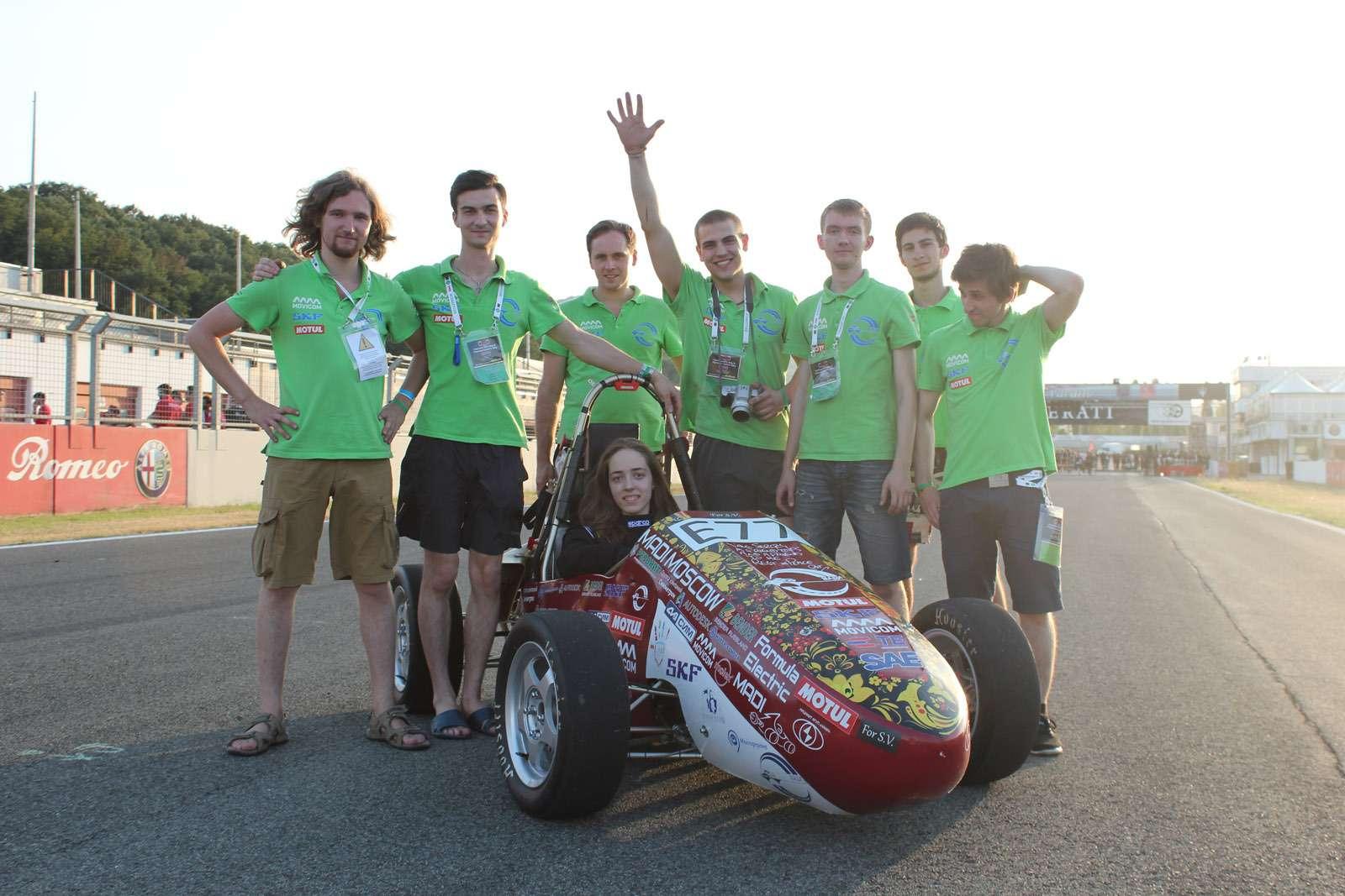 Российская команда получила приз наФормуле Студент— фото 620216