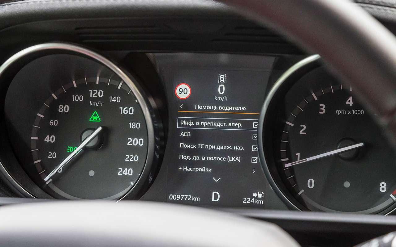 Тест систем автоторможения: богатые тоже врезаются— фото 848911