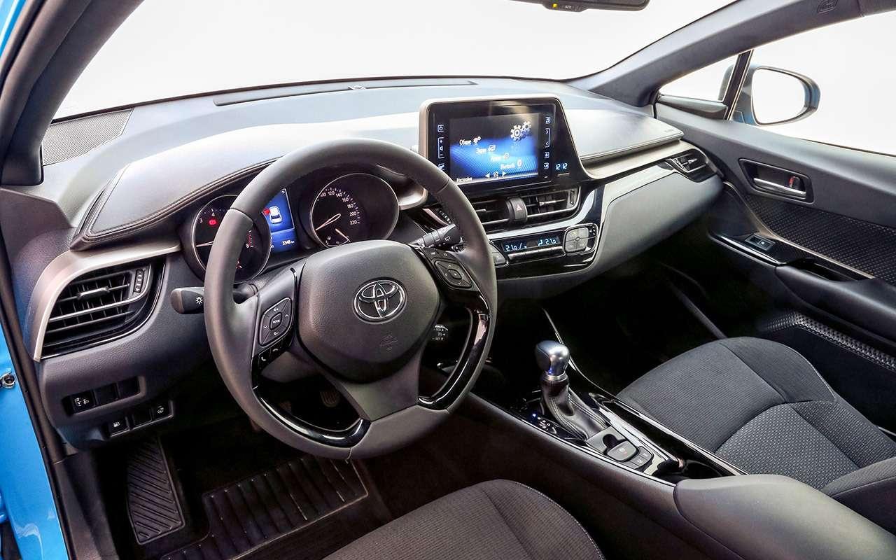 Большой тест стиляг: Toyota C-HR, Citroen C3Aircross иновый Kia Soul— фото 990474