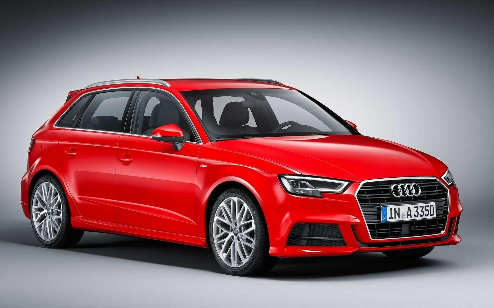 Обновленный Audi A3в России: без трехдверки, кабриолета идизелей— фото 597203