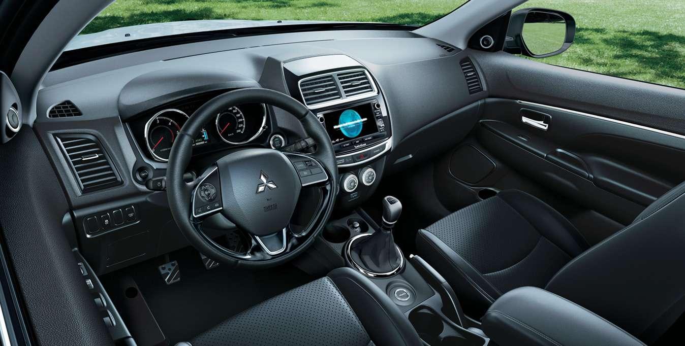 Обновленный кроссовер Mitsubishi ASX: названы рублевые цены— фото 782327