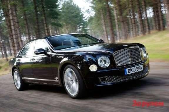 Bentley Mulsanne side-front view