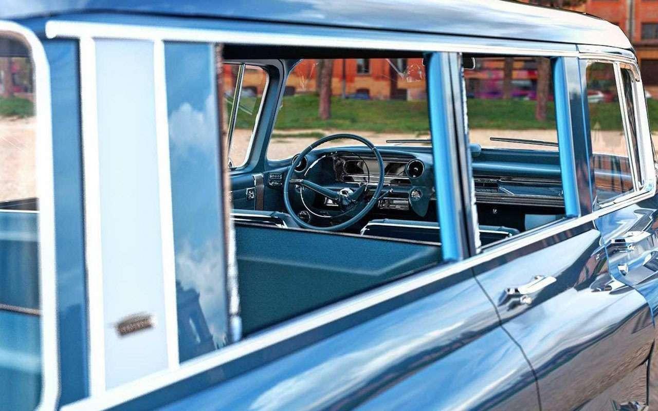 Cadillac Escalade 60лет назад: странная автофантазия— фото 1133759