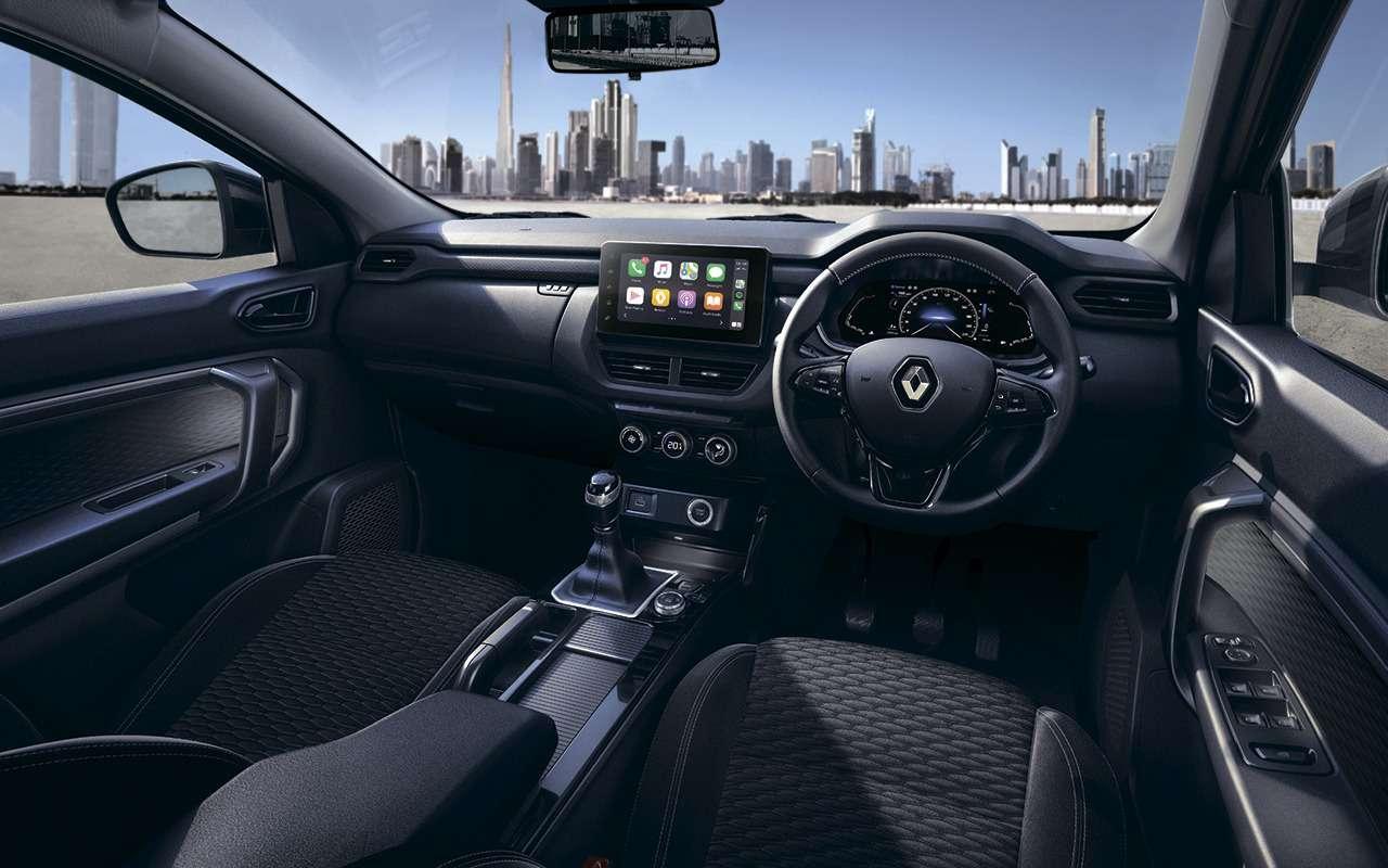 Renault показала маленький кроссовер Kiger— фото 1219549