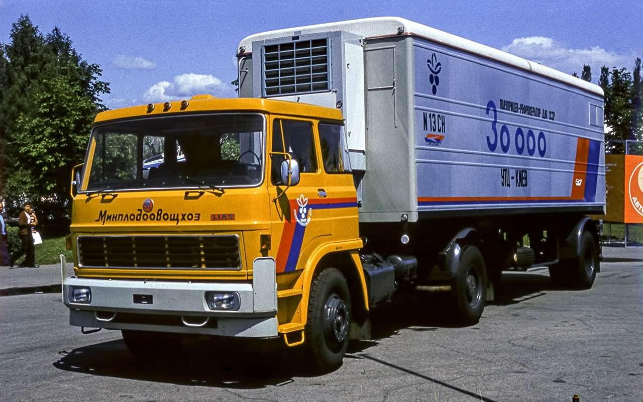 Самые доступные иномарки вСССР— грузовики, конечно!— фото 1209194