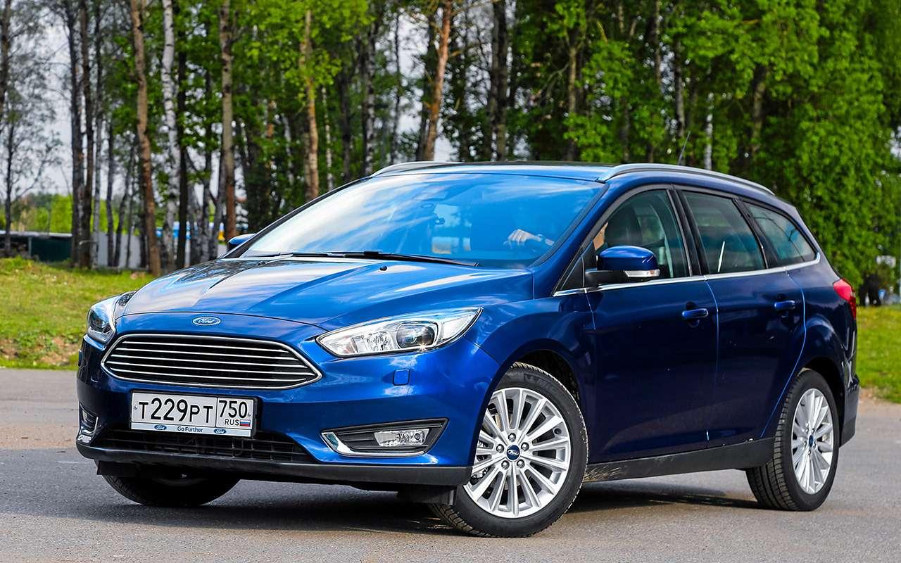Ford Focus сроссийским мотором ироботом: первые 12тысяч— фото 925242