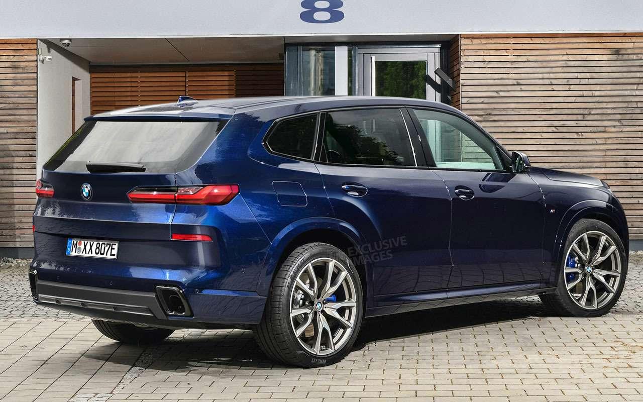 Новый BMW X8— первые изображения— фото 1215325