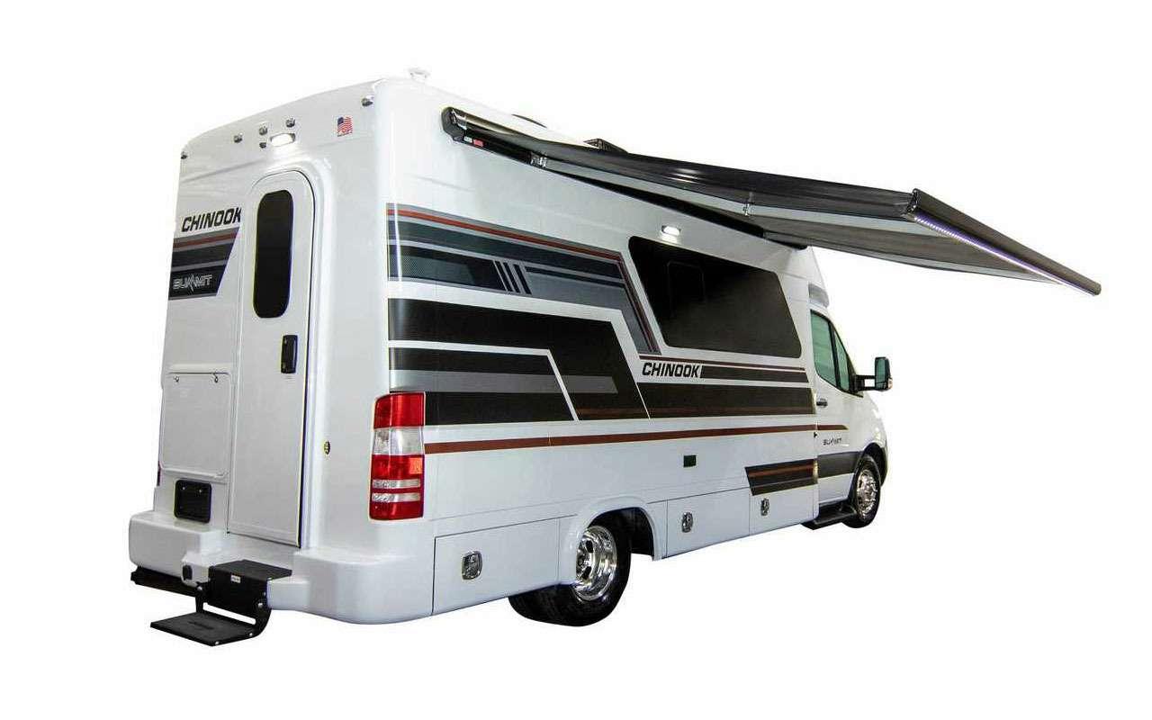 Пора вотпуск: новый автодом классической компании Chinook— фото 1232393