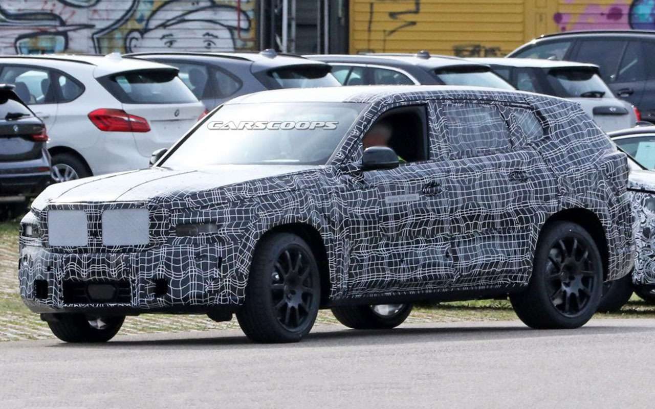 Новый BMW X8: первые кадры сиспытаний— фото 1171693