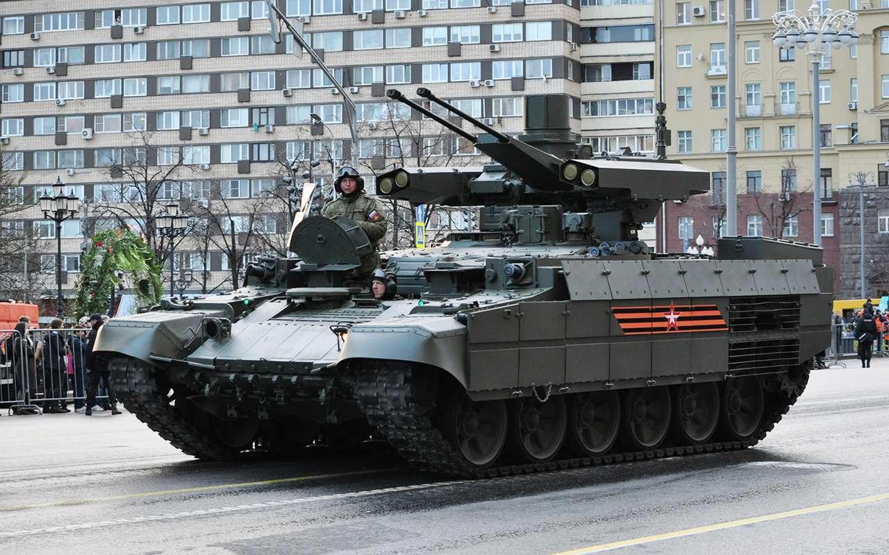 Танк дляподдержки танков— аналогов вмире снова нет!— фото 891769
