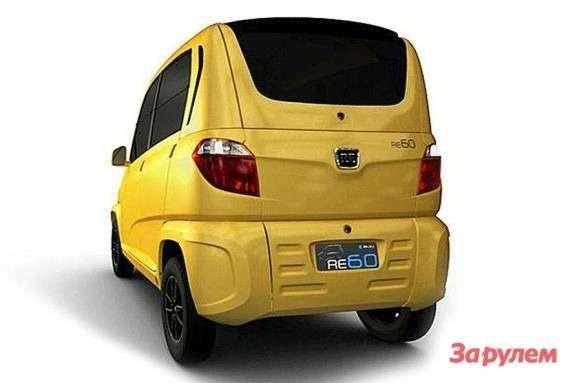 Bajaj RE60 side-rear view