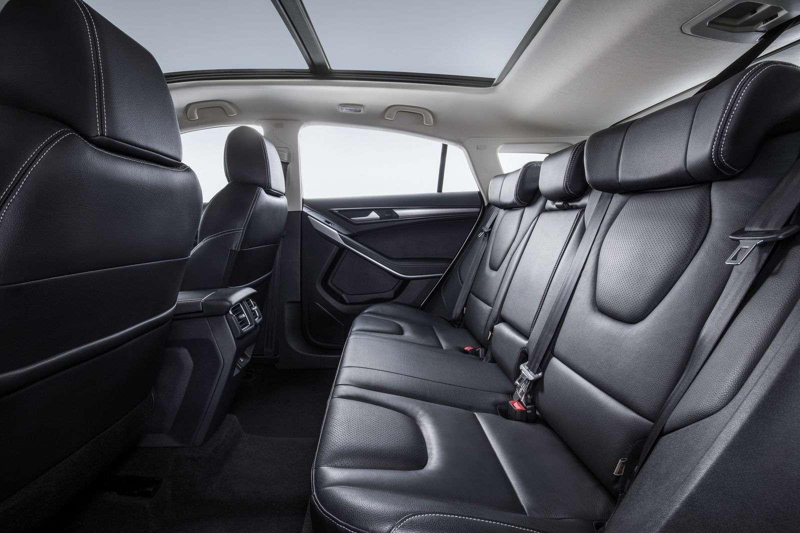 Ford представил новый бюджетный кроссовер Territory— фото 893974