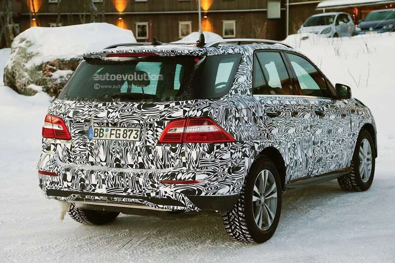 2015 mercedes benz mclass facelift spied inlapland photo gallery 1080p 7no copyright