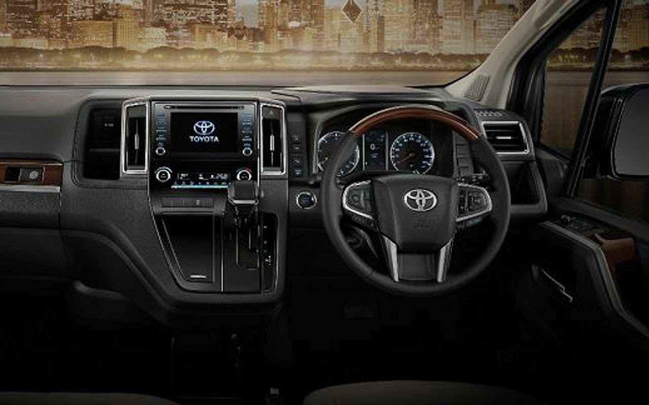 Новая Toyota Majesty— первые подробности— фото 993027