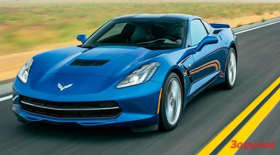 Corvette Stingray: тачка G— фото 259777