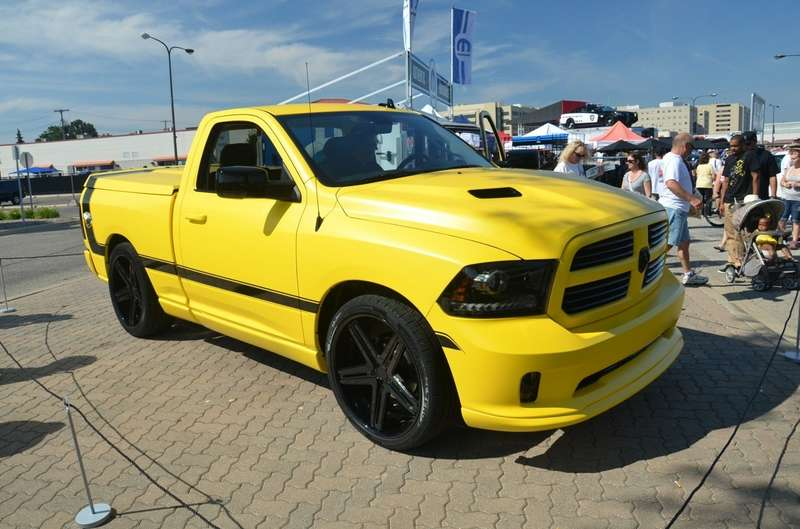 no copyright Front right three quarter of the Ram Rumble Bee Concept