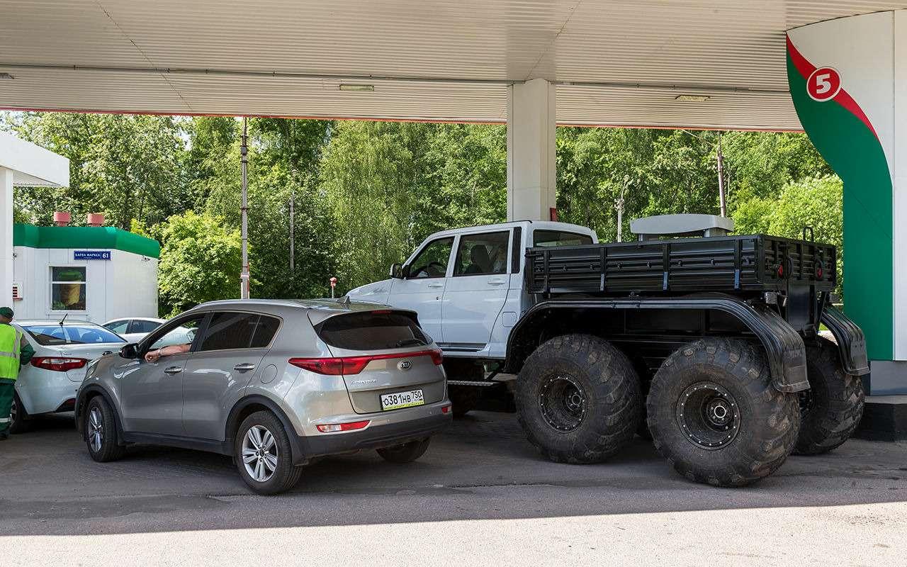 10лучших вездеходов набазе УАЗов— фото 907718