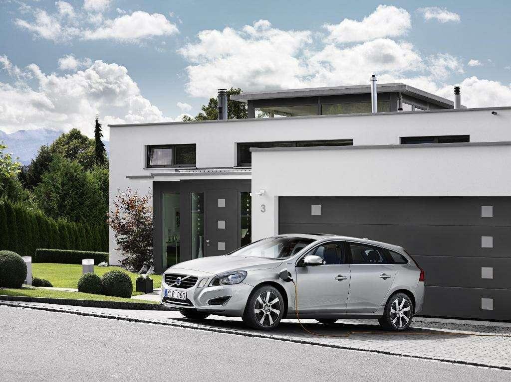 Volvo запустил дизельно-электрический гибрид