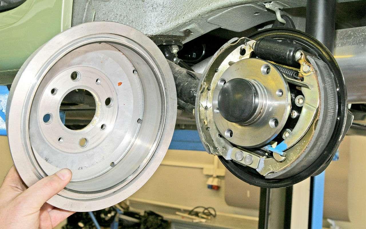 Какие тормоза лучше: барабанные или дисковые?— фото 841465