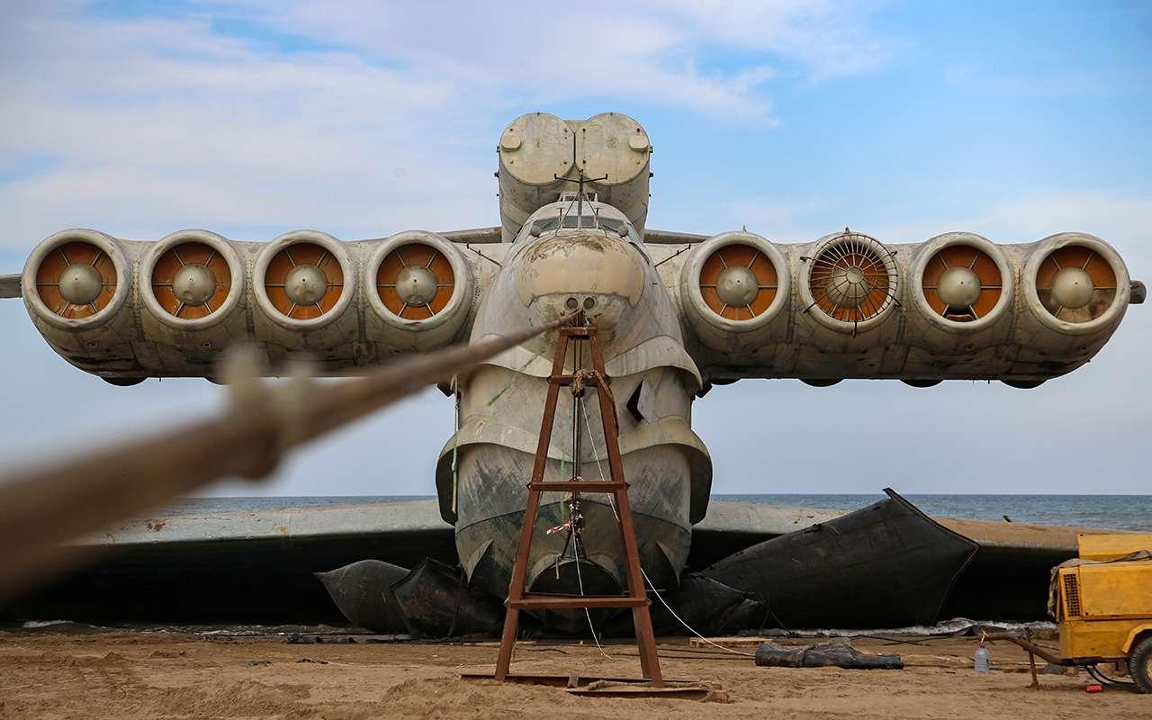 Экраноплан «Лунь»: хватало одного, чтобы разбомбить авианосец— фото 1234312