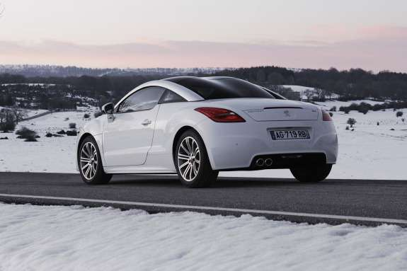 Peugeot RCZ side-rear view
