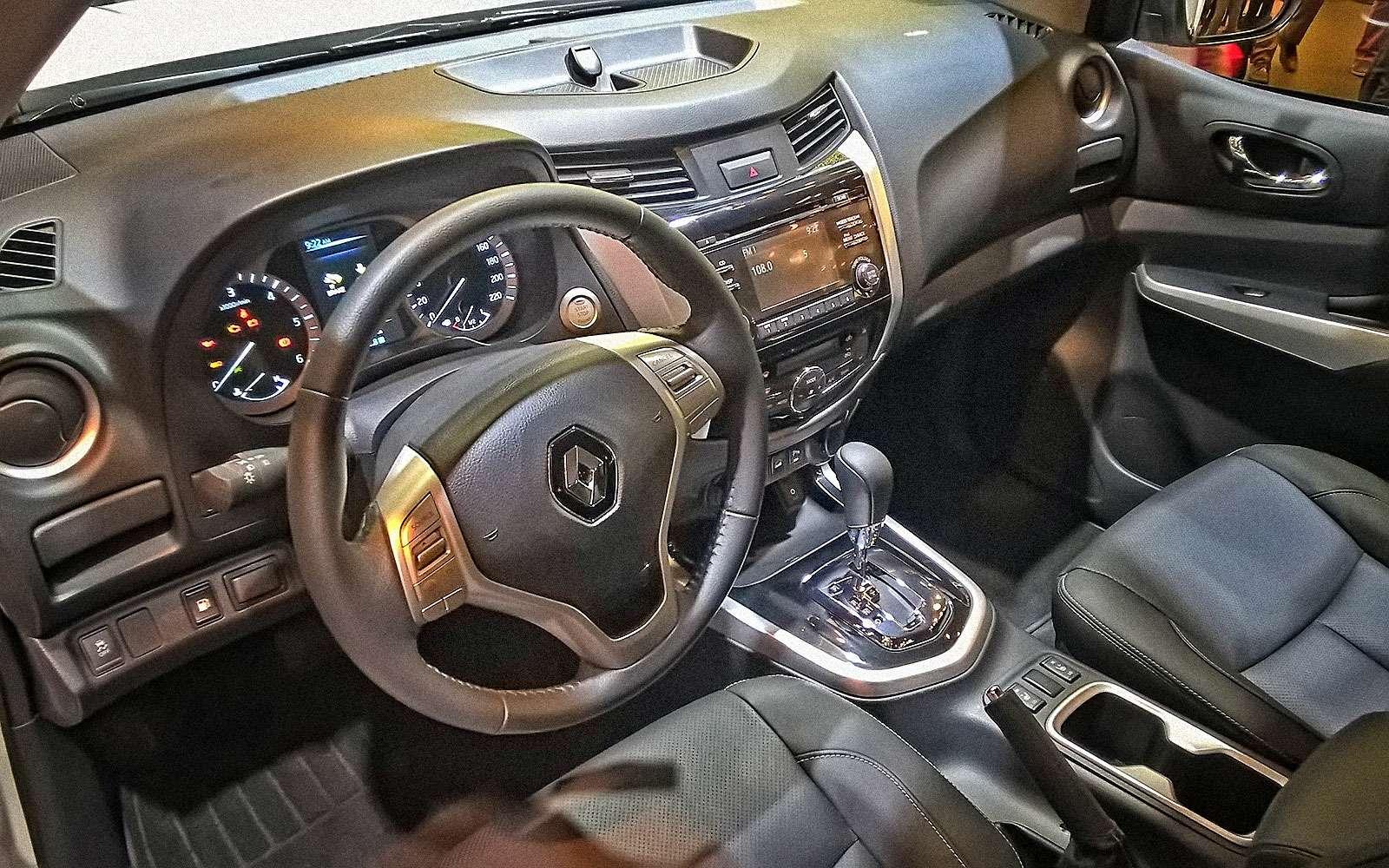 Емуснилась Аляска: пикап Renault добрался доПарижа— фото 641659