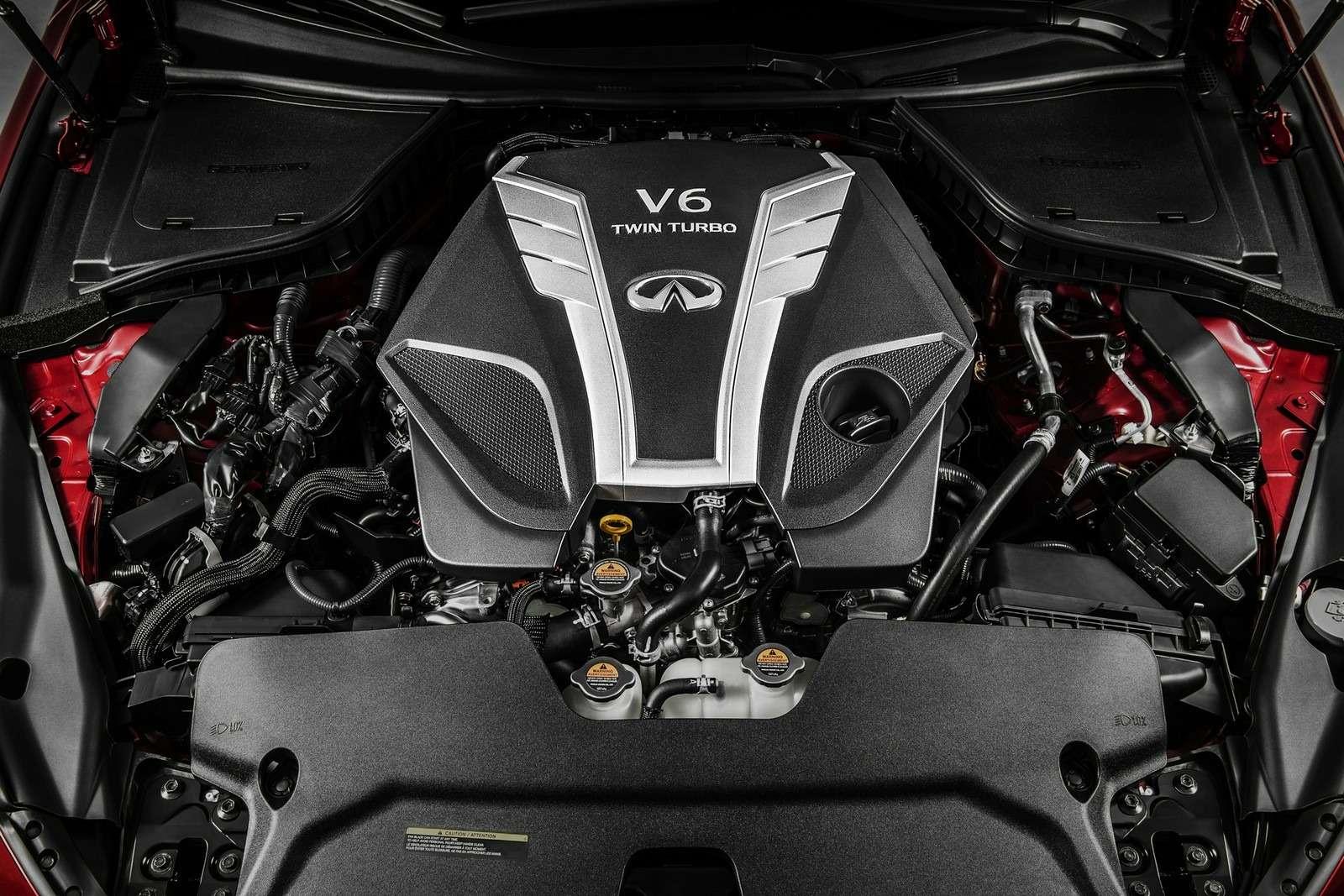 Infiniti's new 3.0-liter V6twin-turbo engine