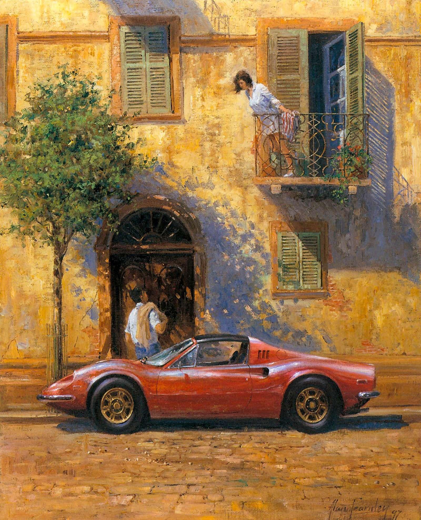 Машина маслом: автомобили вживописи— фото 610083