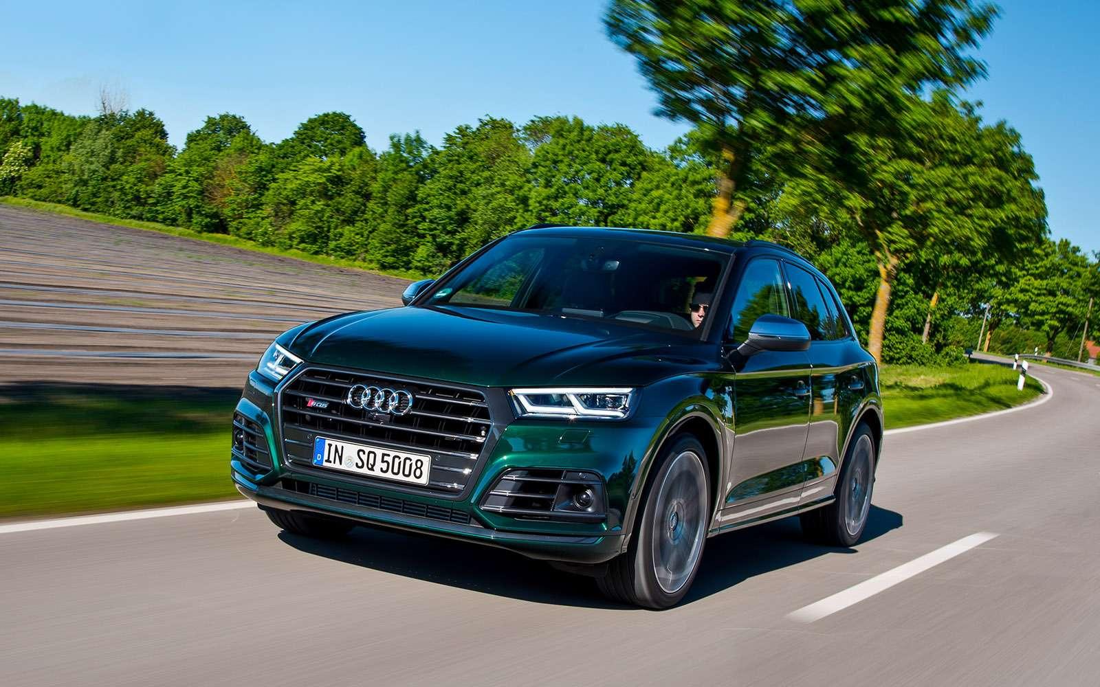 Спортивный семьянин Audi SQ5— тест ЗР— фото 768865