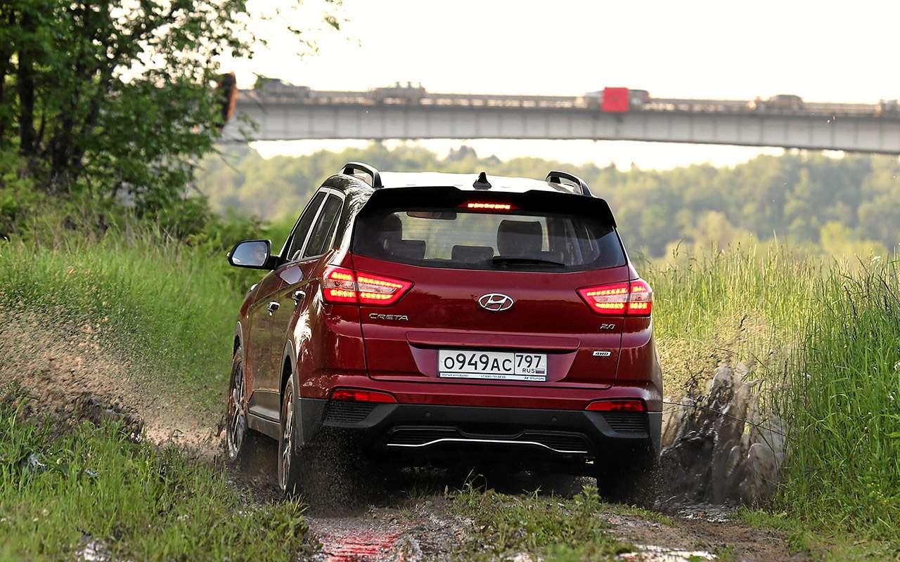 Hyundai Creta 2020: найдите все отличия (ихменьше 10)— фото 1142811