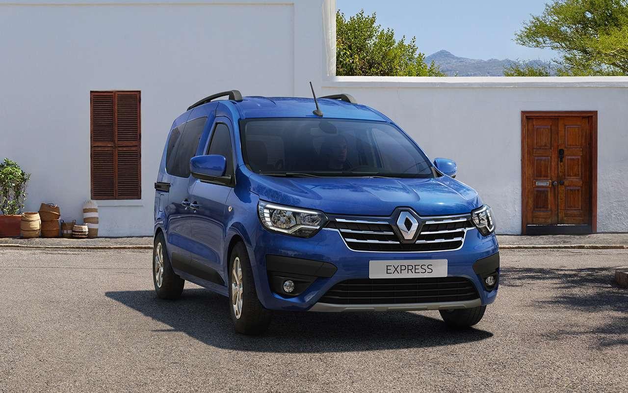 Премьера Renault Kangoo: самый широкий проем сбоку— фото 1201053