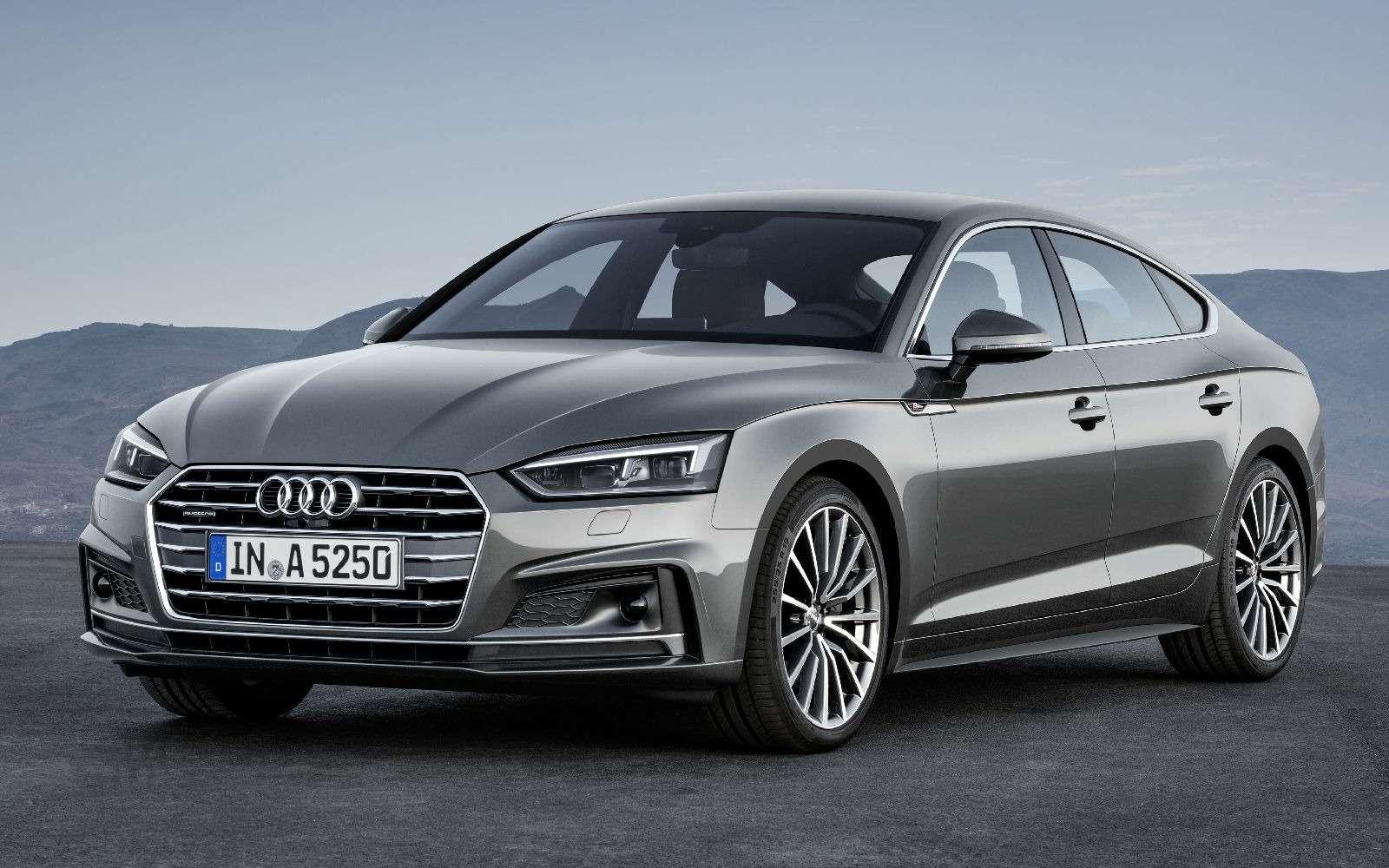 Пятая точка: Audi показала новый A5Sportback— фото 631262