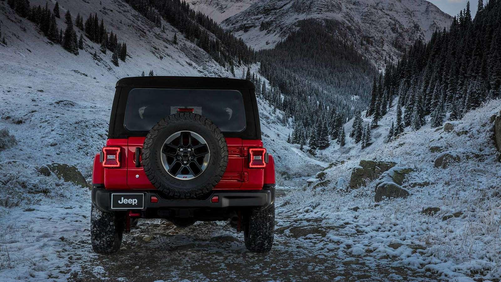 Новый Jeep Wrangler: найди десять отличий— фото 821249