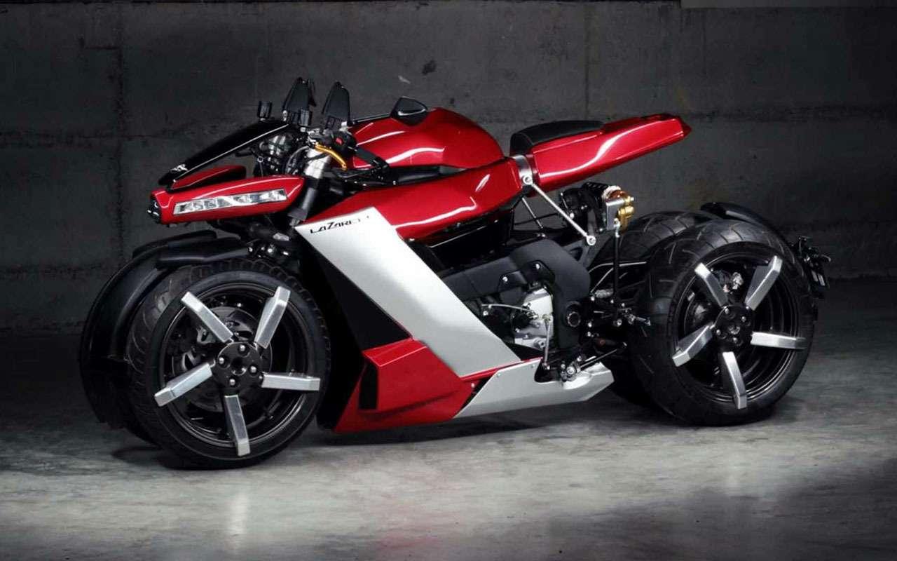 Четырехколесный мотоцикл за... 100 тысяч евро— фото 1085980