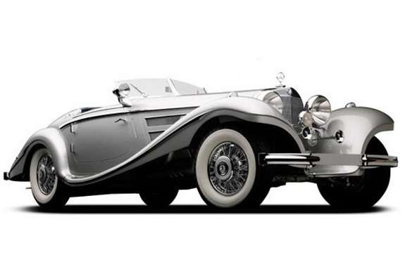 Mercedes-Benz 540K Spezial Roadster by Sindelfingen front view