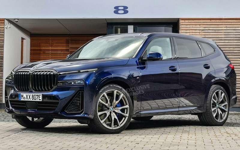 Новый BMW X8— первые изображения
