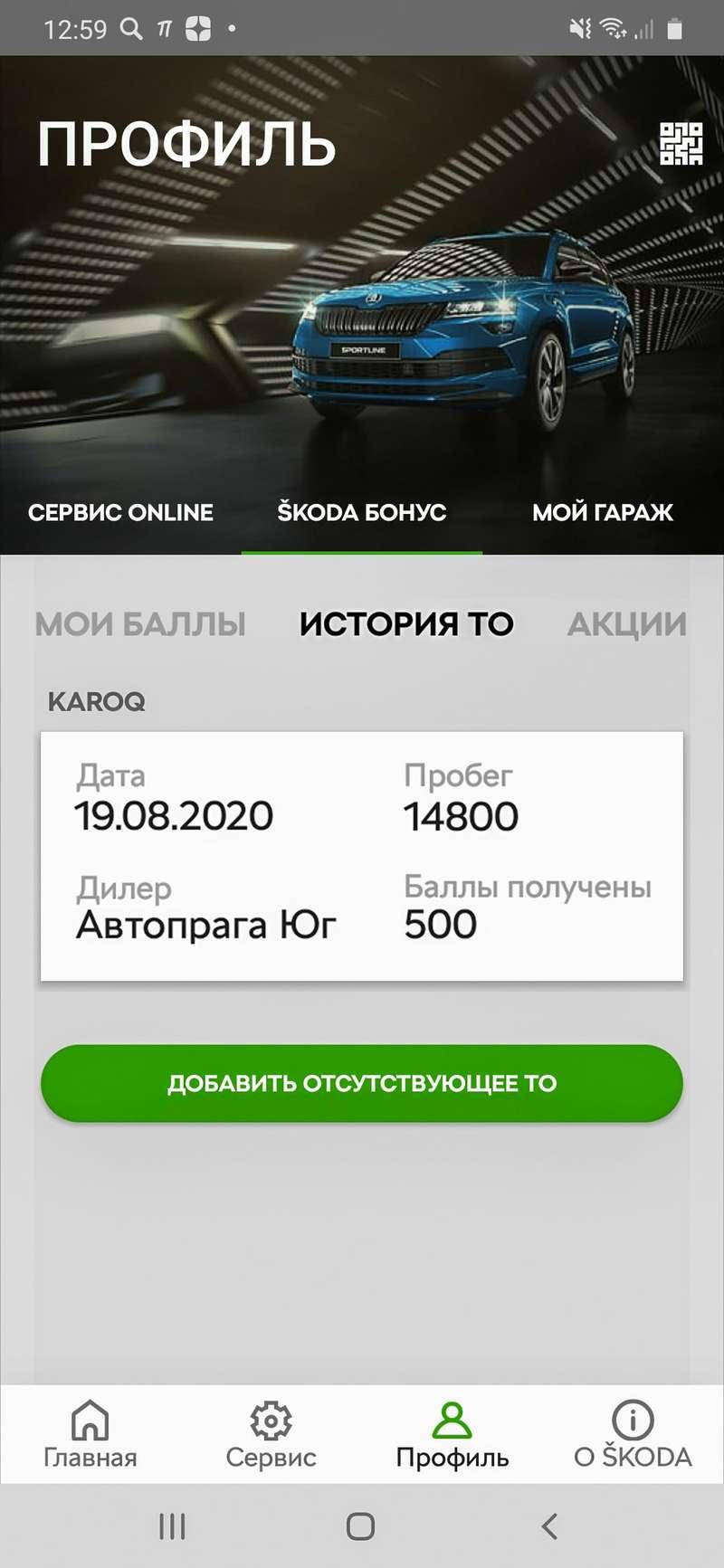 Skoda Karoq: 12000 рублей (!) запервое ТО