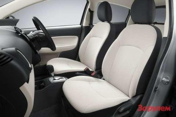 Mitsubishi Colt inside 2