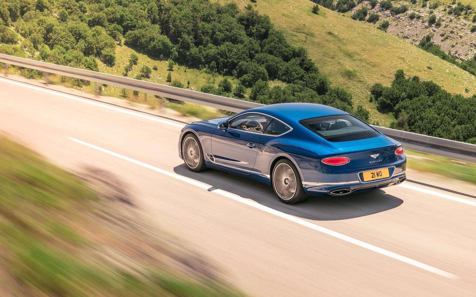 Новый Bentley Continental GT: двухдверная Panamera по-британски— фото 789199
