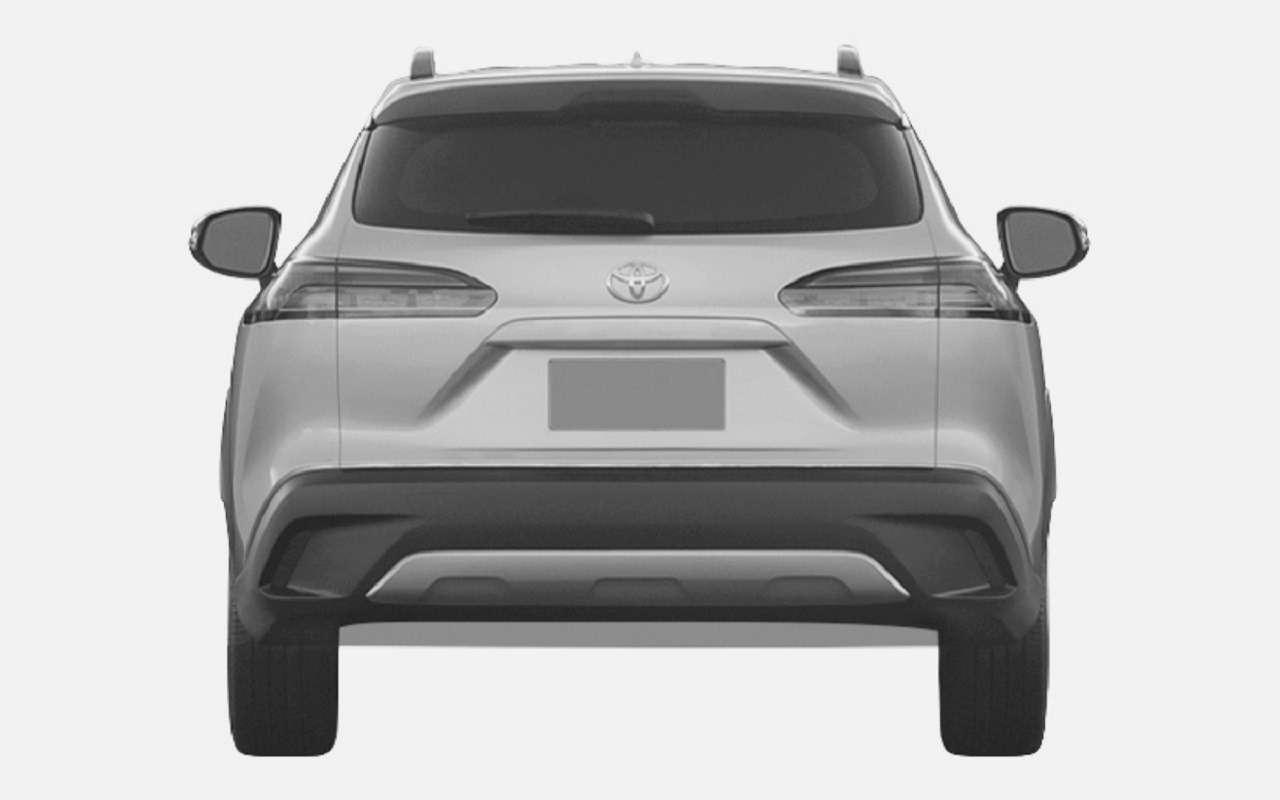 Toyota запатентовала вРоссии кроссовер Corolla Cross— фото 1248083