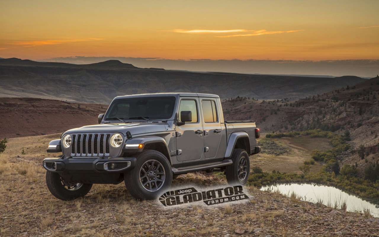 Рассекречен облик ихарактеристики пикапа Jeep Gladiator— фото 923078
