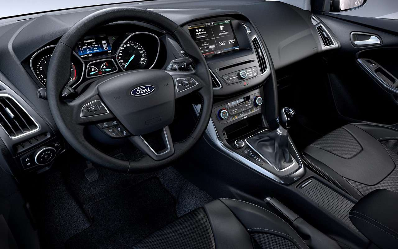 5 плюсов идве спорные особенности Ford Focus— фото 887472