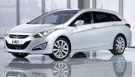 Преемник Sonata новый Hyundai i40 подготовился кстарту
